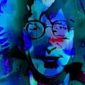 John Lennon by Mark J Dunn