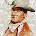 John Wayne By Mary Bassett by Mary Bassett
