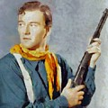 John Wayne, Vintage Hollywood Legend by Sarah Kirk