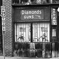 Johnson City Tennessee - Gun Shop by Frank Romeo