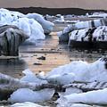 Jokulsarlon Glacier Lagoon Iceland 2050 by Bob Neiman
