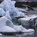 Jokulsarlon Glacier Lagoon Iceland 2431 by Bob Neiman