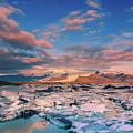 Jokulsarlon Glacier Lake - Iceland by Henk Meijer Photography