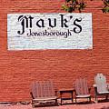 Jonesborough Tennessee Mauk's Store by Frank Romeo
