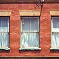 Jonesborough Tennessee Three Windows by Frank Romeo