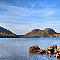 Jordan Pond No. 2 - Acadia - Maine by Geoffrey Coelho