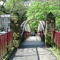 Jubilee Bridge - Matlock Bath by Rod Johnson
