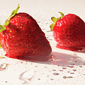 Juicy Strawberries by Michelle Himes