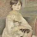 Julie Manet by Auguste Renoir
