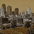 Kansas City Skyline by Anthony Dezenzio