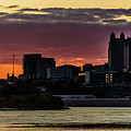 Kansas City Sunrise From Kaw Point by Brandon Cale