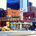 Katz's Delicatessan by Ed Weidman