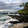 Ke Lei Mai La O Paako Oneloa Puu Olai Makena Maui Hawaii by Sharon Mau