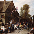 Kermis On St. George's Day by David Teniers the Younger
