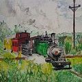 Kettle Moraine Train by Jan Marie
