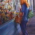 King Street Reflections by Carolyn Epperly