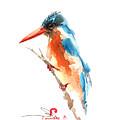 Kingfisher Bird by Pornthep Piriyasoranant