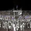 Kkk Services Capital Horse Show Grounds National Photo Co Arlington Virginia August 9 1925-2014 by David Lee Guss
