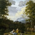 Klassische Landschaft Mit Arkadischer by Johannes Glauber