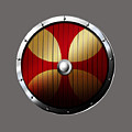 Knights Templar Shield by Frederick Holiday