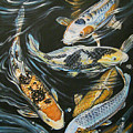 Koi Pond by Diann Baggett