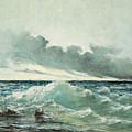 La Vague by Gustave Courbet