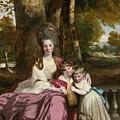 Lady Elizabeth Delme And Her Children by Joshua Reynolds