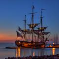 Lafayette's Hermione Voyage 2015 by Jerry Gammon