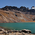 Laguna Chiar Khota In Condoriri Mountains by Aivar Mikko