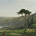 Lake Albano by George Inness