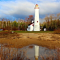 Lake Huron Lighthouse by Michael Rucker