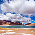 Lake Meniques In Chile by Jess Kraft