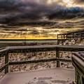 Lake Mi Sunset 5 by Tim Bonnette