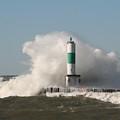 Lake Michigan Wave by John Knoppers