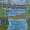 Lake Okahumpka Park by Warren Thompson