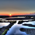 Lake Poygan Sunset by Scott Hughes