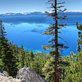 Lake Tahoe from Flume Trail over Sand Harbor State Park by Scott McGuire