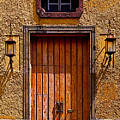 Lamps And Door by Mexicolors Art Photography