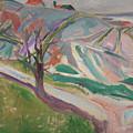 Landscape, Kragero by Edvard Munch