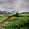 Landscape Sketching by Li Huaipeng