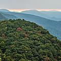 Landscape View At Cedar Mountain Overlook by Alex Grichenko