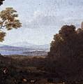 Landscape With Apollo And Mercury  by PixBreak Art