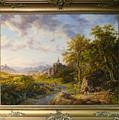 Landscape With Castle by Iakushchenko Sergei