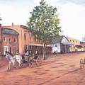 Laurens Street 1890 by Jerry Walker