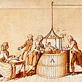 Lavoisiers Respiration Experiments by Wellcome Images