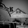 Laws Depot And Locomotive 9 by Troy Montemayor