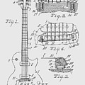 Les Paul  Guitar Patent From 1955 by Chris Smith