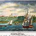 Liberia: Freed Slaves 1832 by Granger