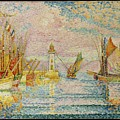 Lighthouse At Groix by Paul Signac