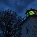 Lighthouse At Night by Joe  Ng